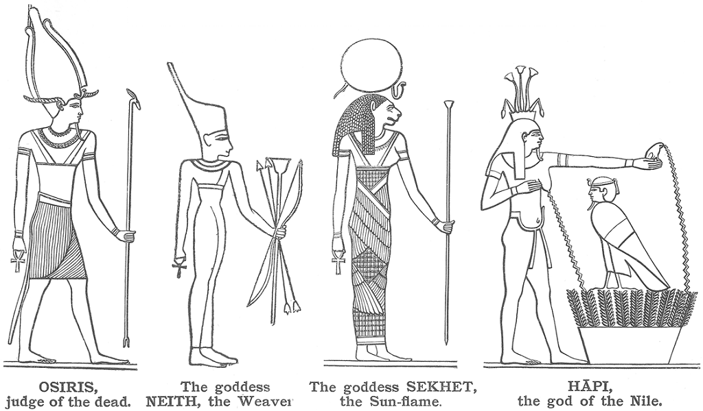 Deidades Egipcias